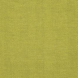Stofprøve i hør, regnskovsgrøn, Emilia