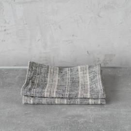 Sæt med 1 stk. håndklæde og 1 stk. gæstehåndklæde, Multi Striped
