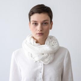 Sommertørklæde Hvidt Garza
