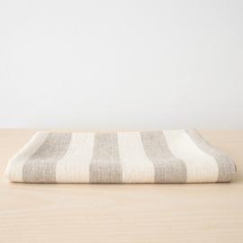 Badehåndklæde i hør, naturfarvet, Philippe