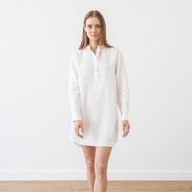 Hvid natskjorte i hør, Alma