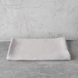 Badehåndklæde i hør, sølv, Lara