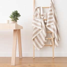 Sæt af badehåndklæder, 4 stk., beige, Philippe