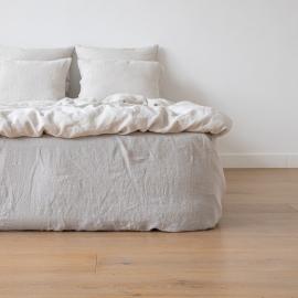 Boxlagen i hør, sølv, stenvasket