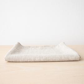 Badehåndklæde i hør, naturfarvet, Provence