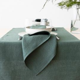 Bordløber i hør, balsam-grøn, Lara