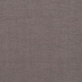 Hørstof til sengetøj, stenvasket, Steel Grey
