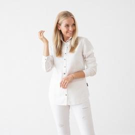 Skjorte i hør, hvid, Ernesto