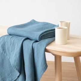 Badehåndklæde i hør, Jeans, Waffle