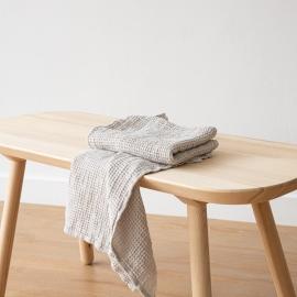 Sæt af håndklæder, sølv, Waffle