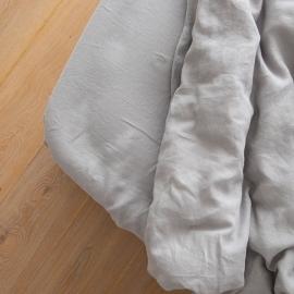 Boxlagen i hør, cool grey, forvasket