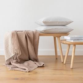 Tæppe i merinould, beige, Marcus