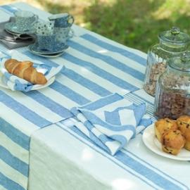 Tuscany Dug i Blå, Philippe Bordløber & Servietter i Blå