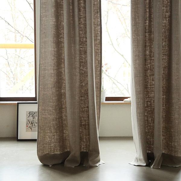 hør gardiner Gardin i hør, naturfarvet, Lara   Hørgardiner   LinenMe hør gardiner