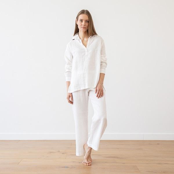 Pyjama Sølv Hør Alma Tøj LinenMe